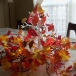 Idea for Thanksgiving:  Make a Thanksgiving Tree