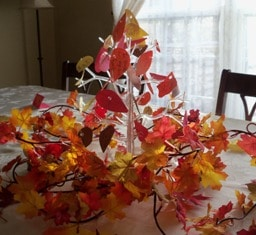 Idea for Thanksgiving: How to Make a Thanksgiving Tree