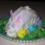 Let's Make an Easter Bunny Cake