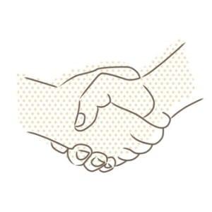 vector-drawing-of-handshake_f1SsRA8d - sm