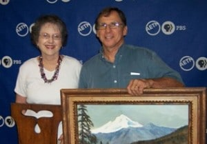 couple at antique roadshow